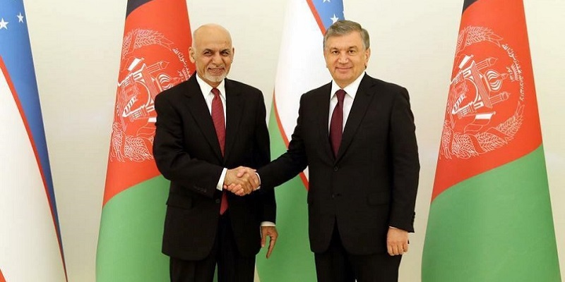 The leaders of Afghanistan & Uzbekistan emphasized the expansion of bilateral cooperation