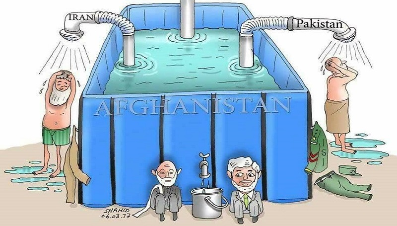 Afghanistan has about 75 billion cubic meters water (surface & underground)