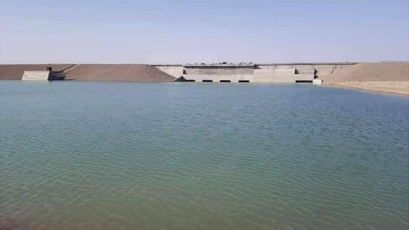 Kamal Khan Dam reservoir fills up with water